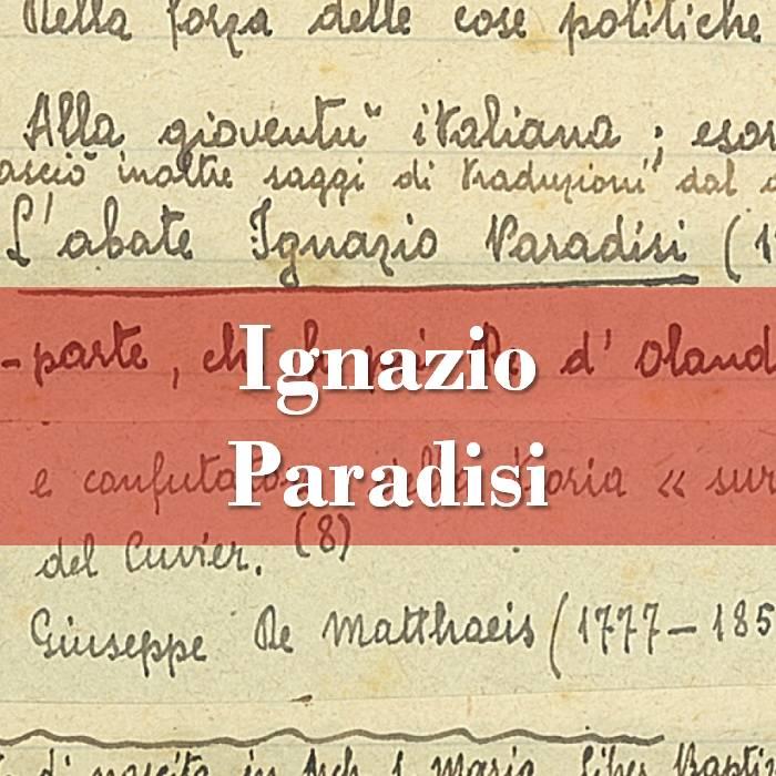 Ignazio Paradisi