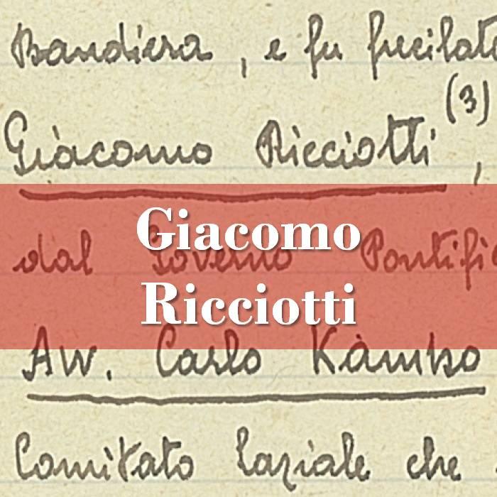 Giacomo Ricciotti