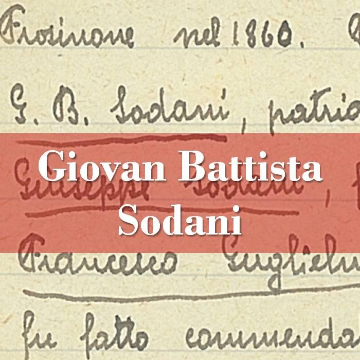 Giovan Battista Sodani