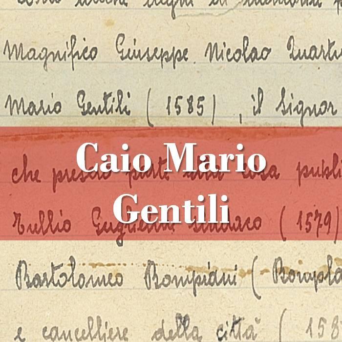 Caio Mario Gentili