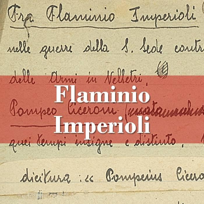Flaminio Imperioli