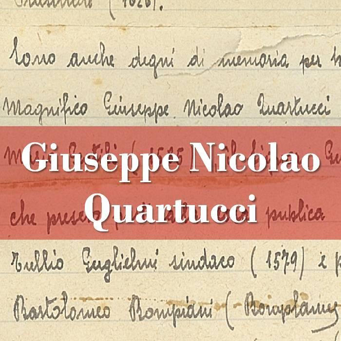 Giuseppe Nicolao Quartucci