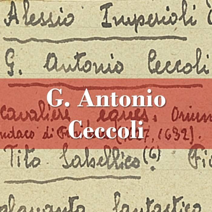 G. Antonio Ceccoli