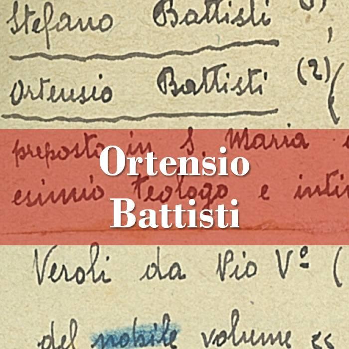 Ortensio Battisti