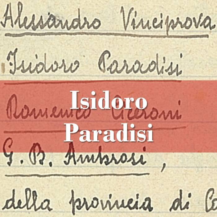Isidoro Paradisi