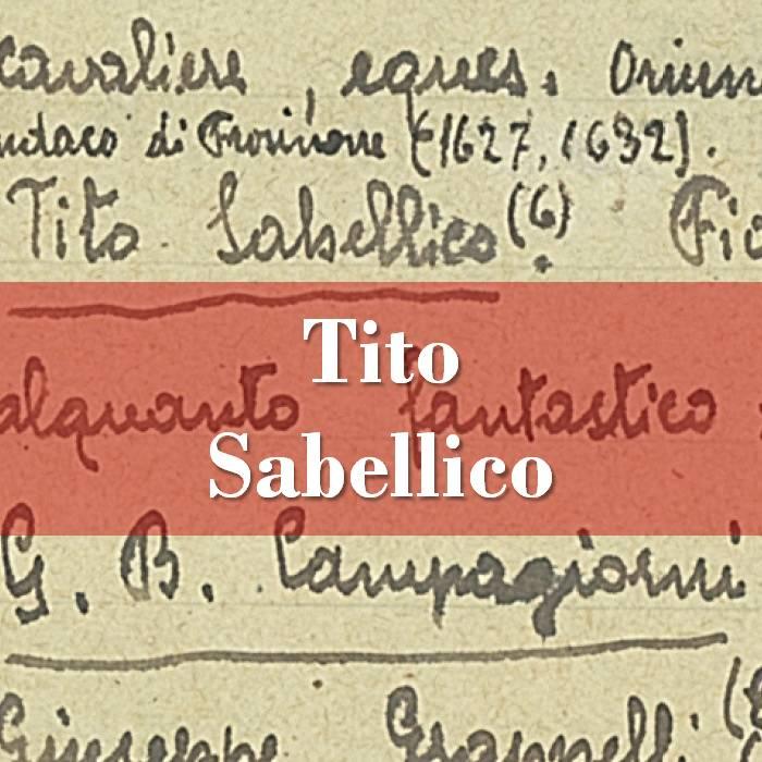 Tito Sabellico
