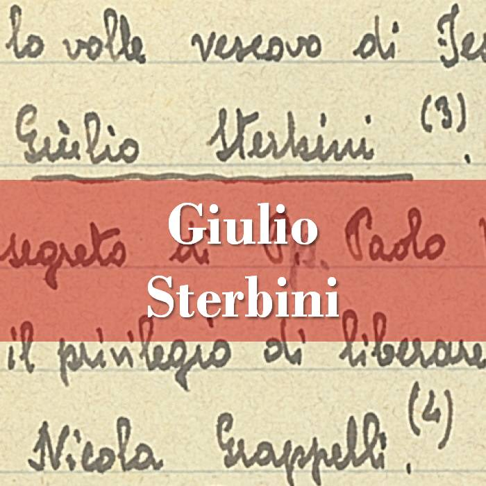 Giulio Sterbini