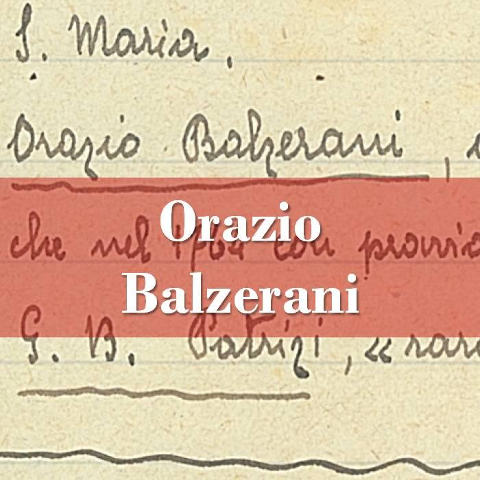Orazio Balzerani