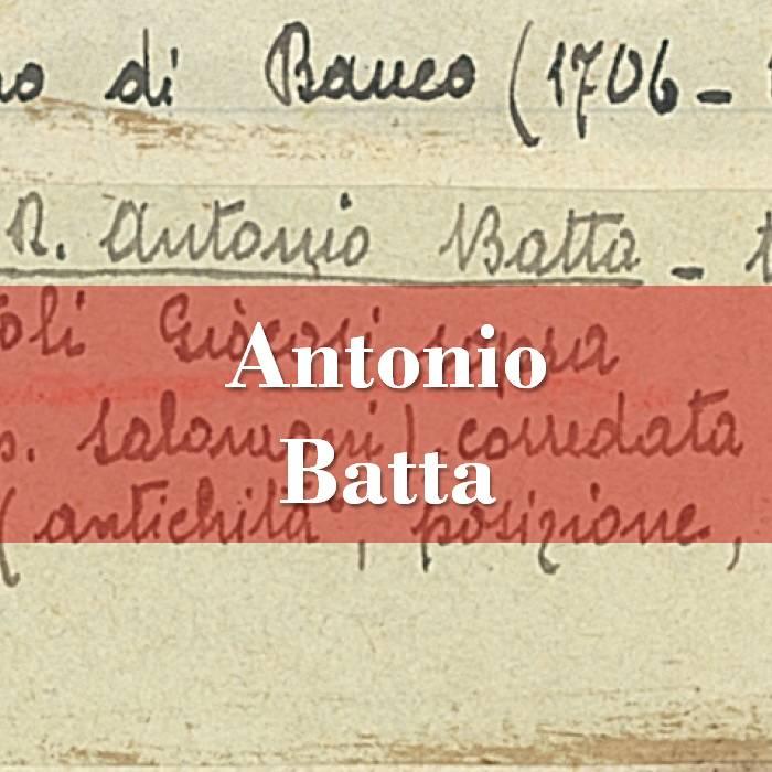 Antonio Batta