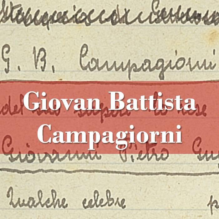 Giovan Battista Campagiorni