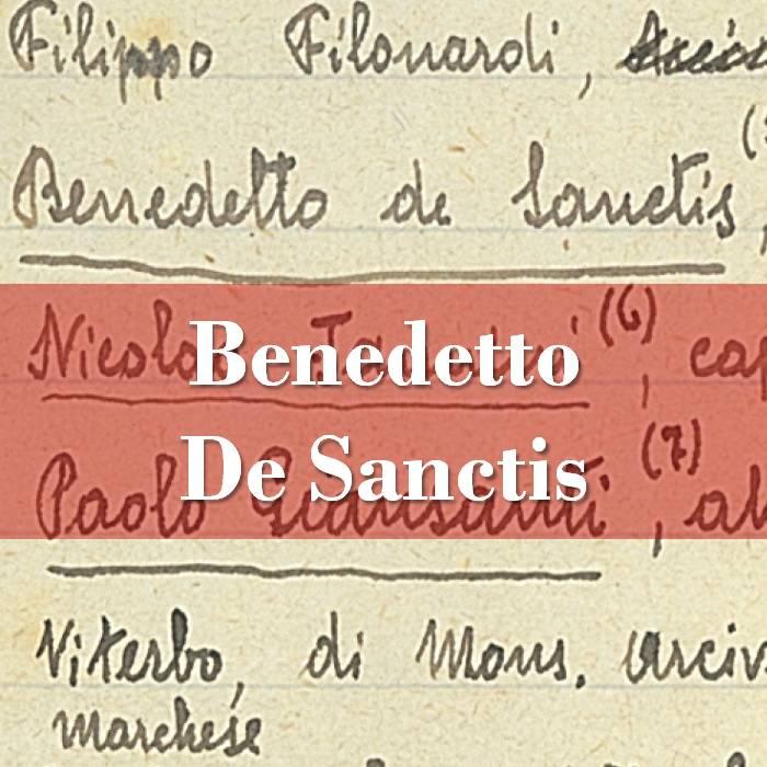 Benedetto De Sanctis
