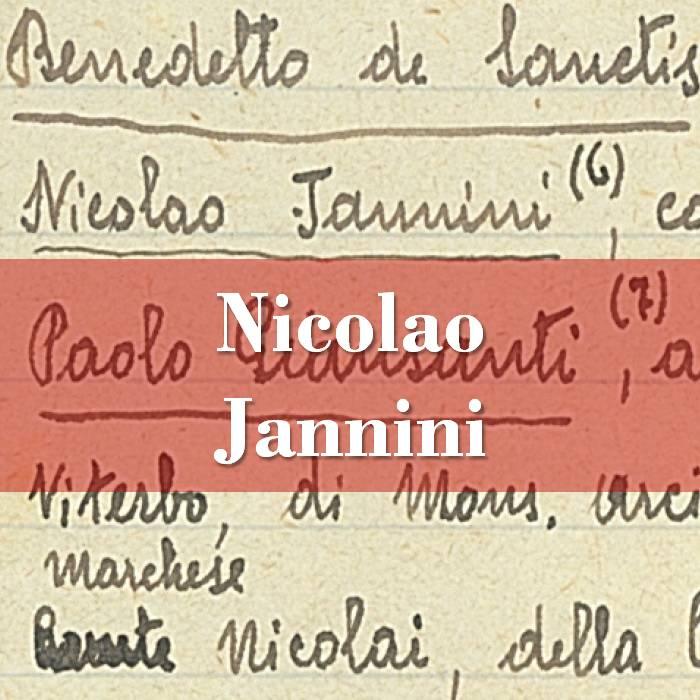 Nicolao Jannini