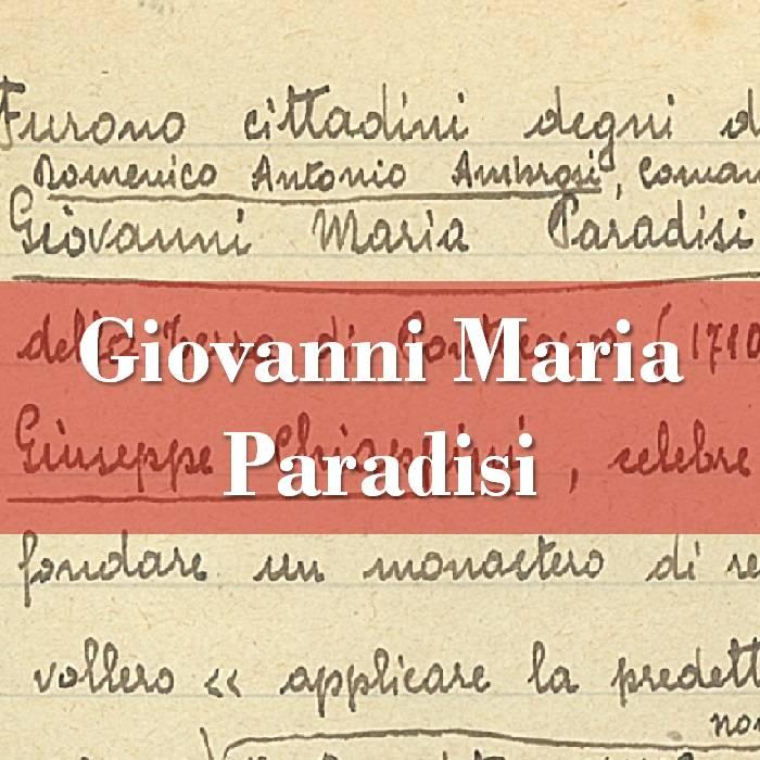 Giovanni Maria Paradisi