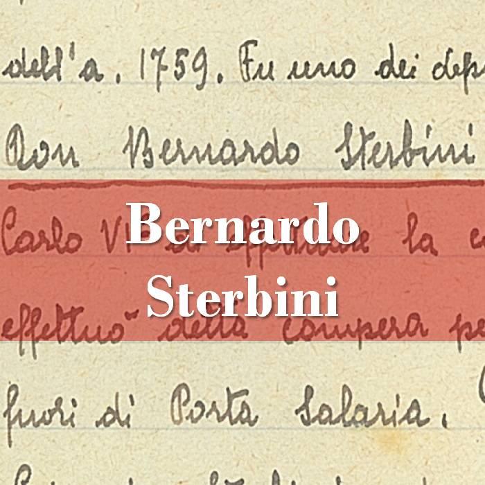 Bernardo Sterbini