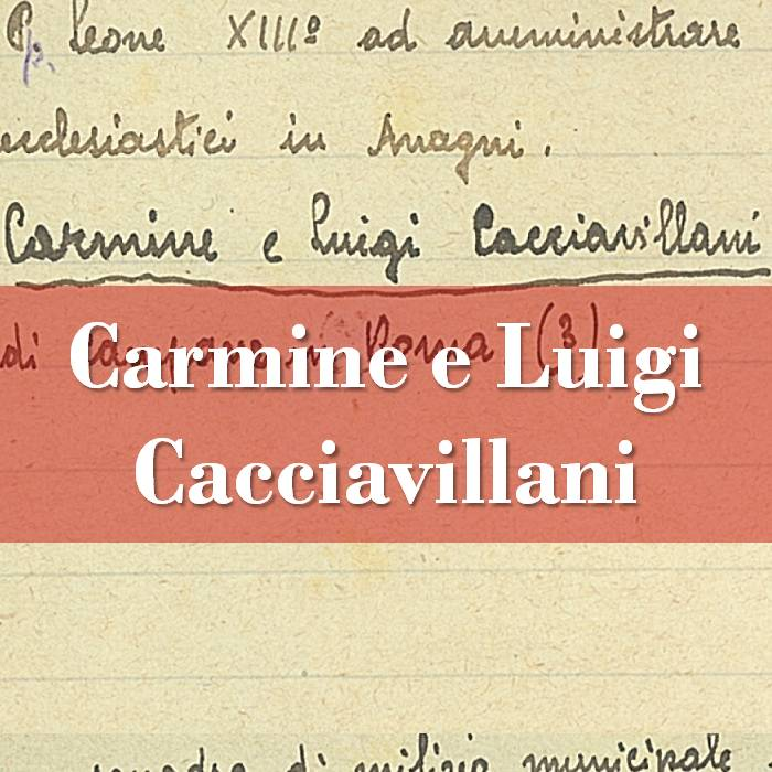 Carmine e Luigi Cacciavillani