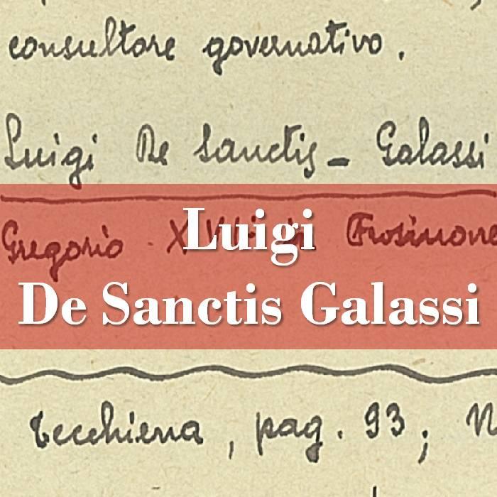 Luigi De Sanctis-Galassi
