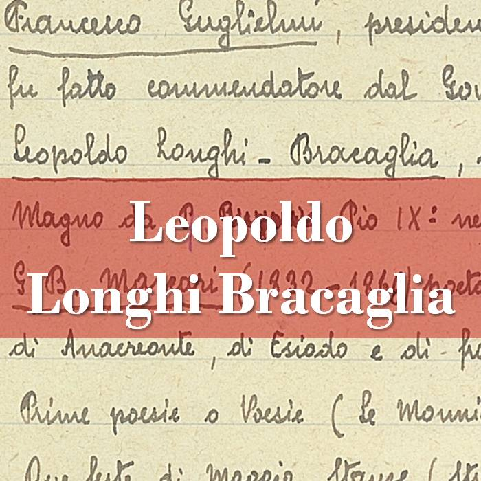 Leopoldo Longhi Bracaglia